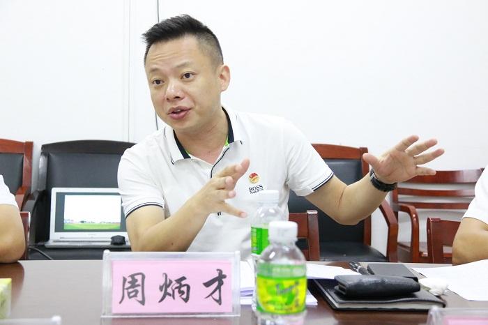 党委副书记周炳才作总结讲话(海职青年记者团_黎加奎_摄影).JPG